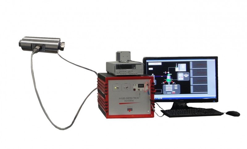 Flow-Through Solid Detection Cell