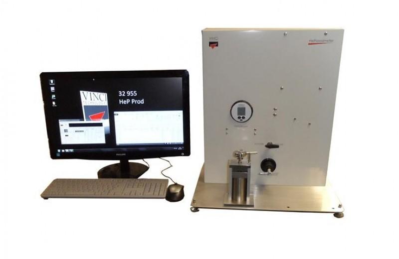 Helium Porosimeter