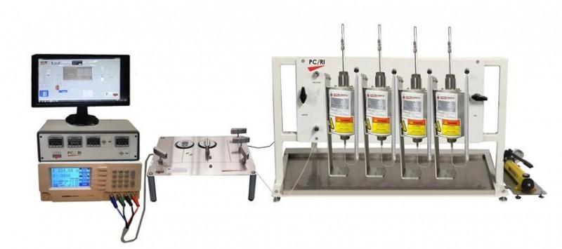 Multi-Sample Capillary Pressure Resistivity System